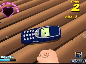 摧毁诺基鸭手机