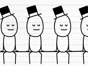 铅笔涂鸦创意动画28