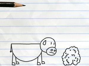 铅笔涂鸦创意动画20