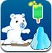 小熊玩滑雪