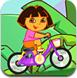 朵拉骑脚踏车