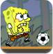 海绵宝宝踢足球