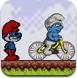 蓝灵精自行车
