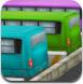3D公交车停靠