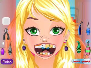 苏菲的牙齿护理