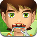 少年骇客牙齿问题