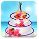 婚礼时的蛋糕
