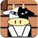 栅栏里的奶牛