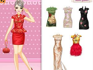 欢乐中国旗袍礼服