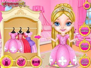 芭比宝贝的时尚公主装