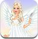 可爱的天使装扮