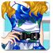 蓝色妖姬裙子